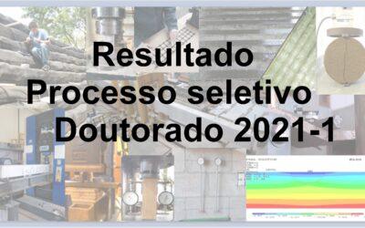 Resultado preliminar do Processo Seletivo – Doutorado 2021-1